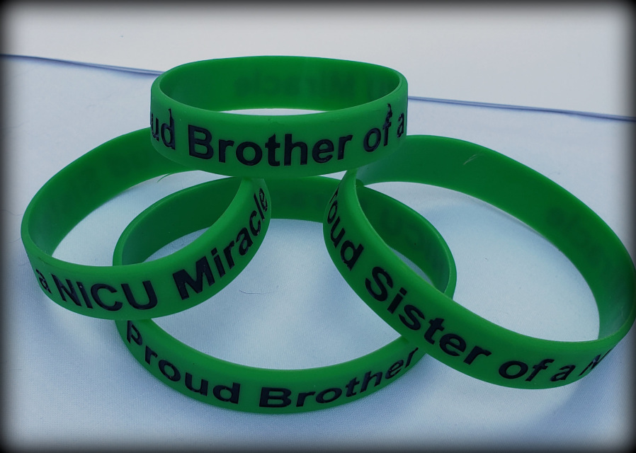Proud Brother Or Sister Silicone Bracelet